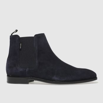 Paul Smith Shoe Ps Navy Gerald Mens Boots