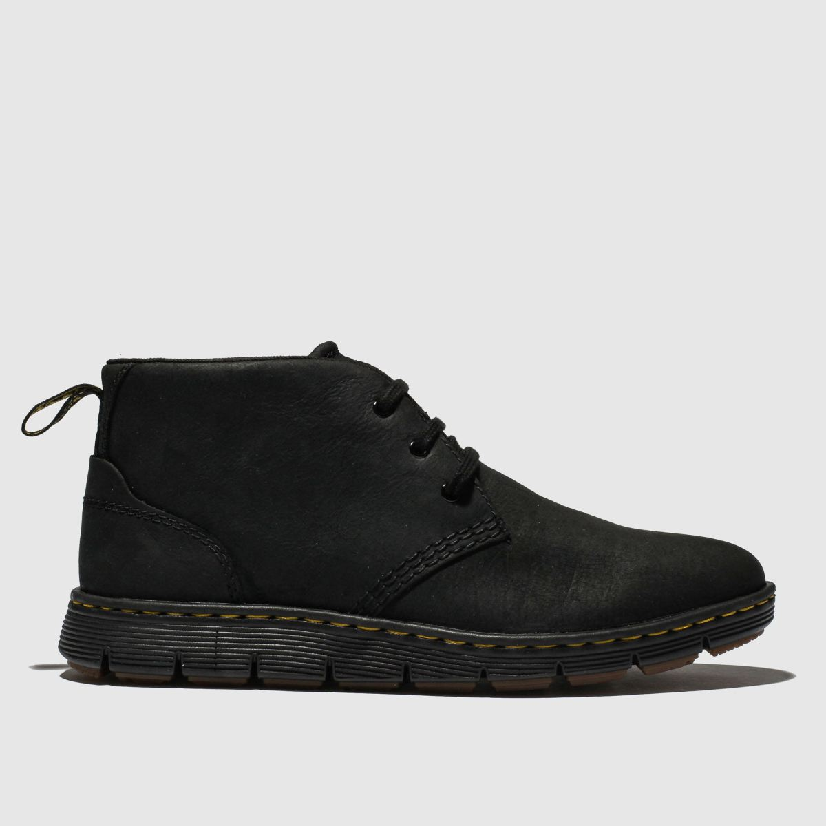 Dr Martens Black Lawford Mid Boots