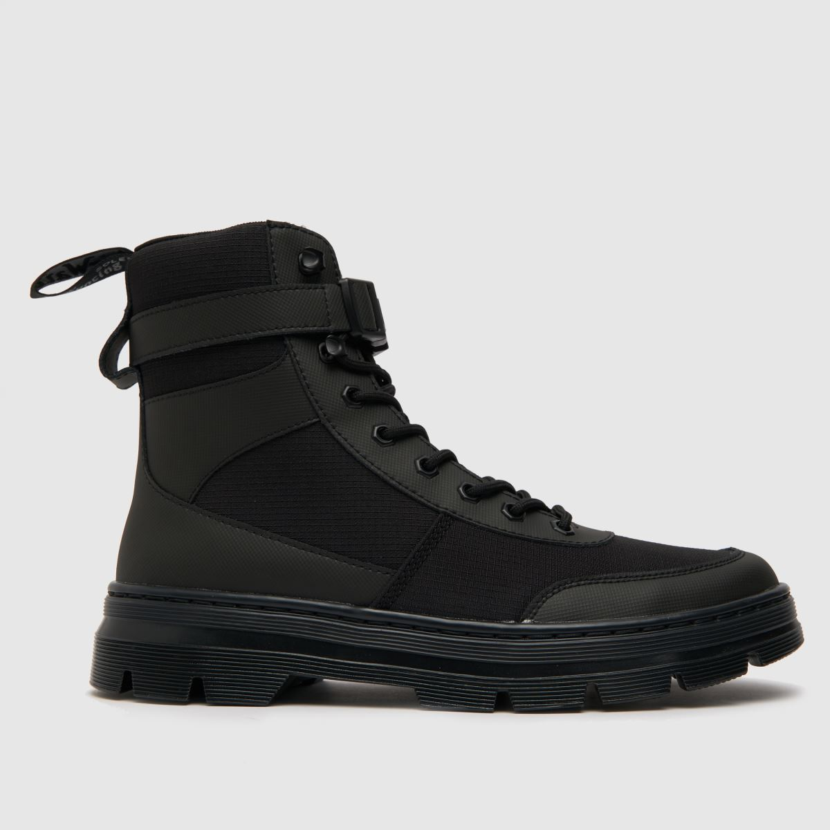 Dr Martens Black Combs Tech Shoes