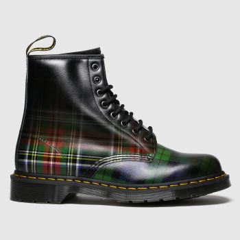 Dr Martens Multi 1460 Tartan 8 Eye Mens Boots