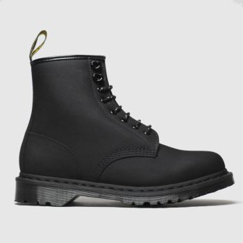 Dr Martens Black 1460 Nubuck 8 Eye Boot Mens Boots