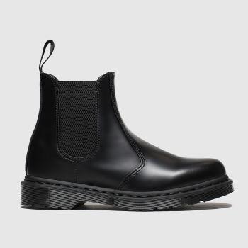 Dr Martens Black 2976 Mono Chelsea Mens Boots#
