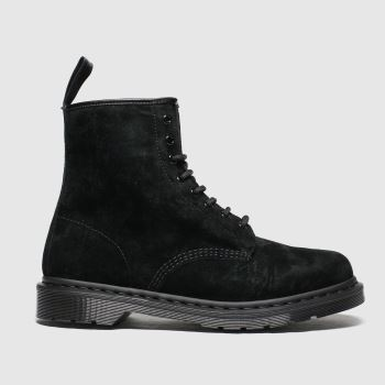 Dr Martens Black 1460 8 Eye Mono Mens Boots