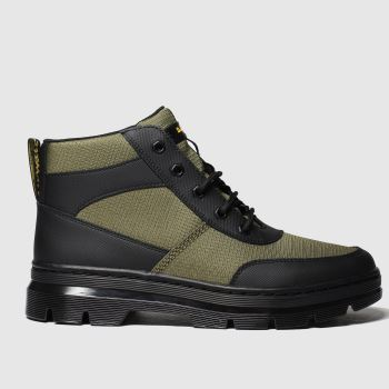 Dr Martens Khaki Bonny Tech 6 Eye Mens Boots
