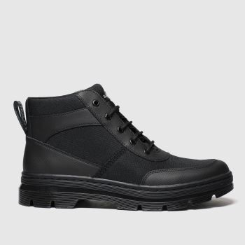 Dr Martens Black Bonny Tech 6 Eye Mens Boots