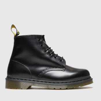 Dr Martens Black 101 6 Eye Mens Boots