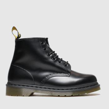 Dr Martens Schwarz 101 6 Eye Herren Boots