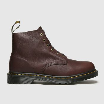 Dr Martens Brown 101 Unbound 6 Eye Mens Boots