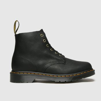 Dr Martens Black 101 Unbound 6 Eye Mens Boots