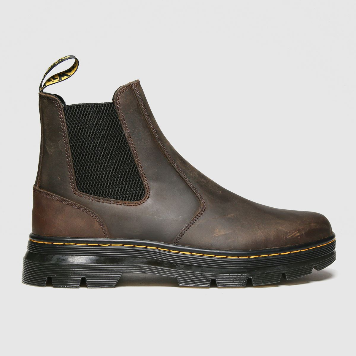 Dr Martens Brown 2976 Tract Chelsea Boots - ShoeFreak