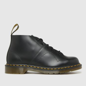 Dr Martens Black Church Mens Boots