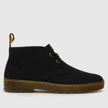 Dr Martens Black Dm Cruise Cabrillo Mens Boots
