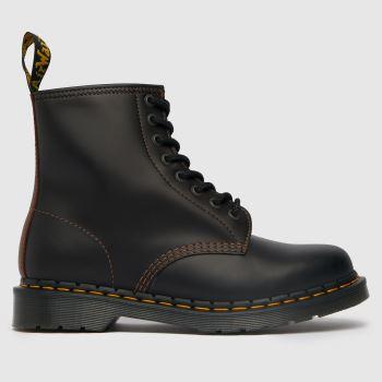 Dr Martens Black & Brown 1460 Abruzzo Mens Boots