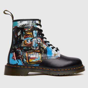 Dr Martens Schwarz 1460 Basquiat Herren Boots