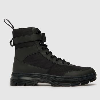 Dr Martens Black Dm Combs Tech Boot Mens Boots