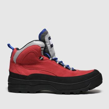 Tommy Hilfiger Red Expedition Mens Boot Mens Trainers