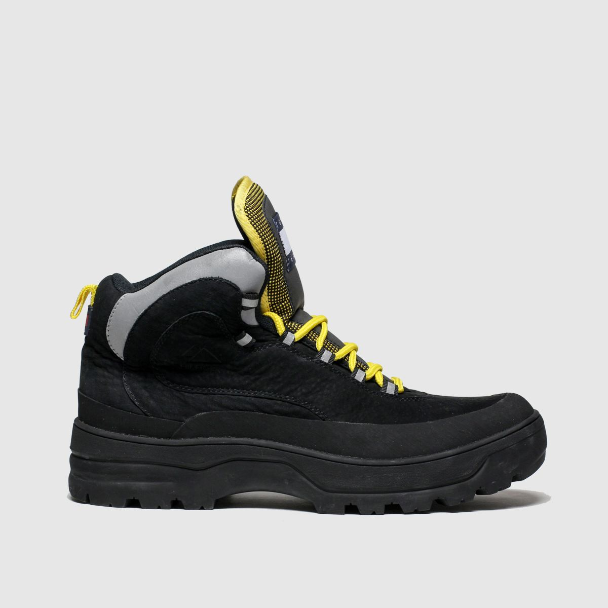 Tommy Hilfiger Black Expedition Mens Boot Trainers