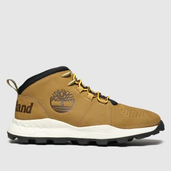 Timberland Tan Brooklyn City Mens Boots