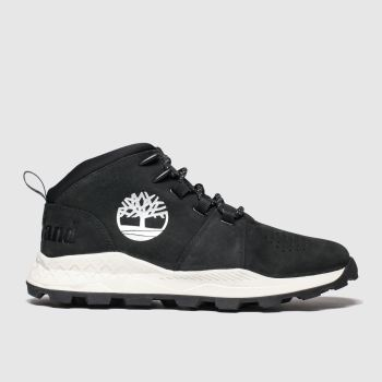 Timberland Black Brooklyn City Mid Mens Boots