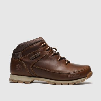 Timberland Brown Eurosprint Mid Hiker Mens Boots