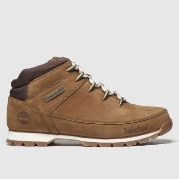 Timberland brown eurosprint mid hiker boots
