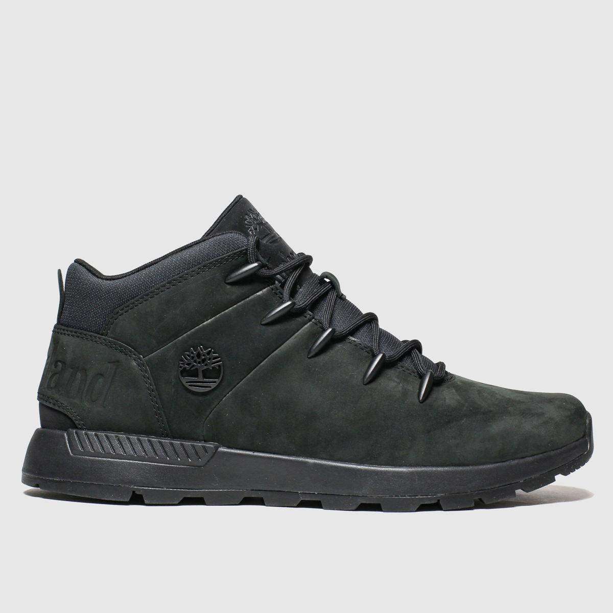 Click to view product details and reviews for Timberland Black Euro Sprint Trekker Mid Boots.