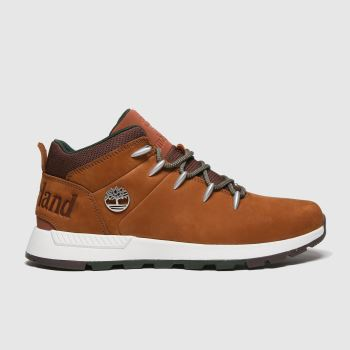Timberland Brown Sprint Trekker Mid Mens Boots