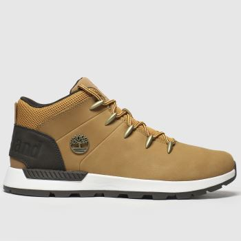Timberland Tan Sprint Trekker Mid c2namevalue::Mens Boots