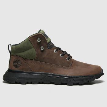 Timberland Brown Treeline Mid Hiker Mens Boots