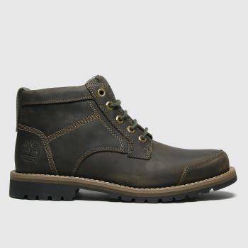 Timberland Khaki Larchmont Ii 5 Eye Chukka Mens Boots