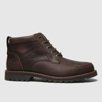 Timberland Brown Larchmont Ii 5 Eye Chukka Mens Boots