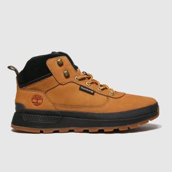Timberland Tan Field Trekker Mid Hiker Mens Boots