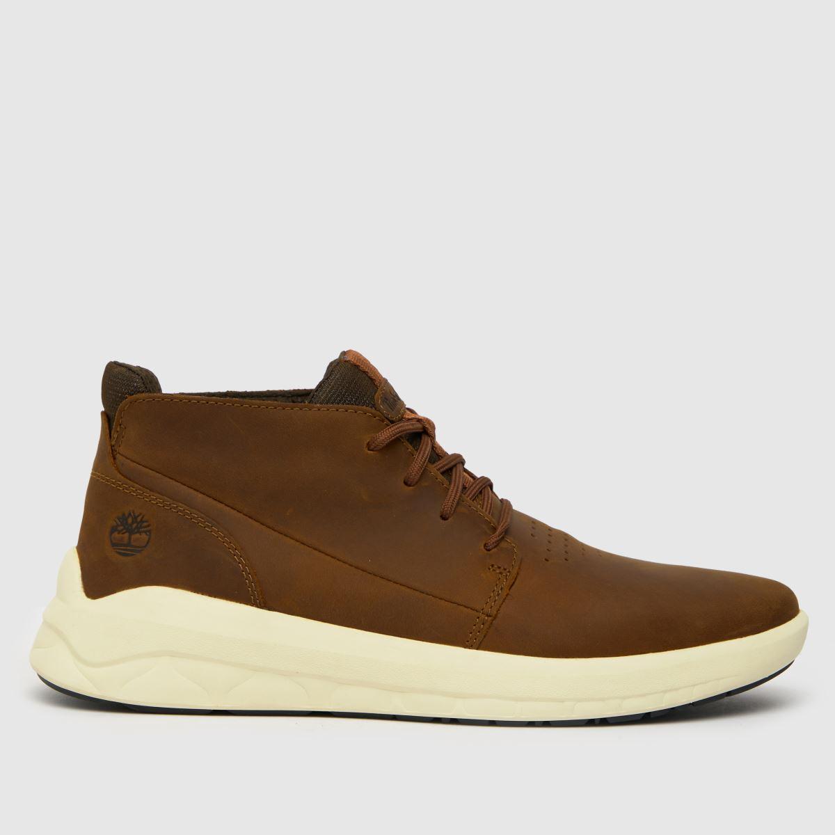 Timberland Brown Timb Bradstreet Ultra Boots