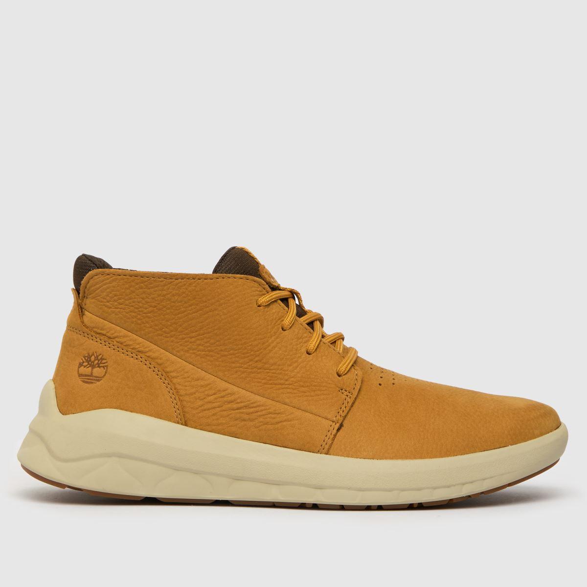Timberland Tan Timb Bradstreet Ultra Boots