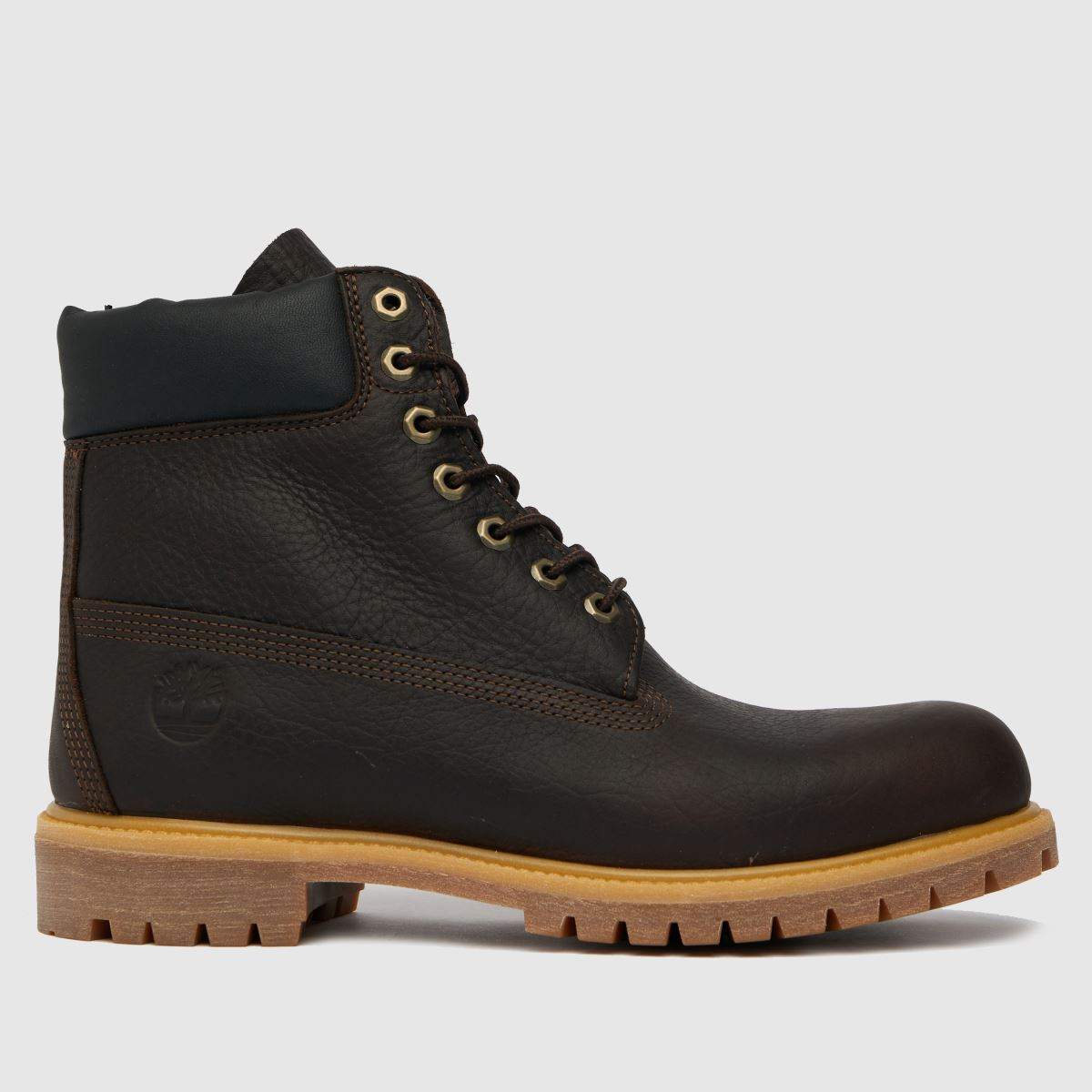 Timberland Dark Brown Timb 6 In Premium Boots