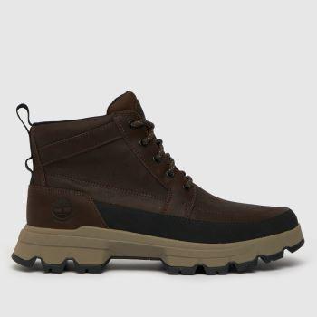 Timberland Dark Brown Timb Tbl Mid Ultra Mens Boots