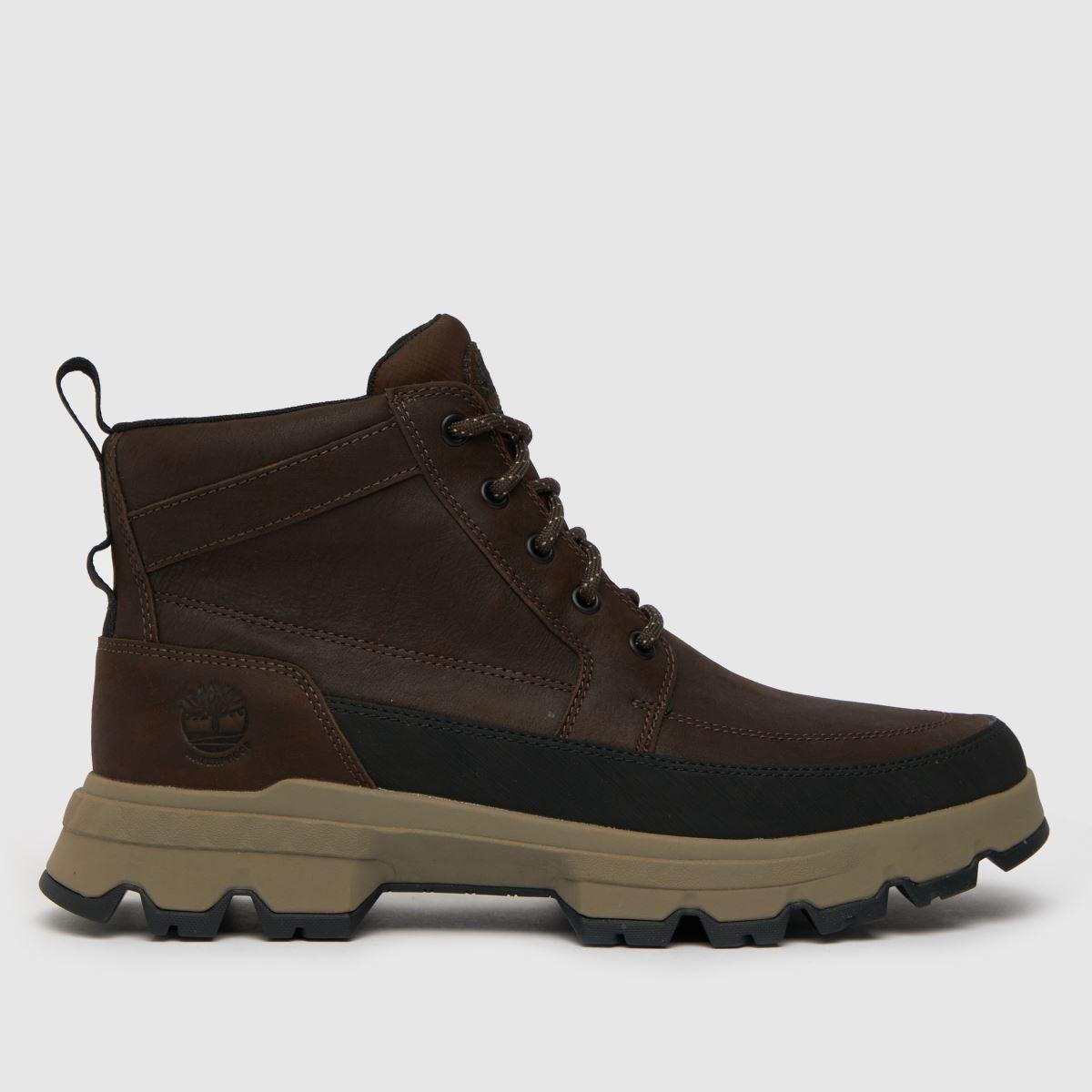 Timberland Dark Brown Timb Tbl Mid Ultra Boots