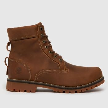Timberland Brown Rugged 6 In Wp Boot Mens Boots