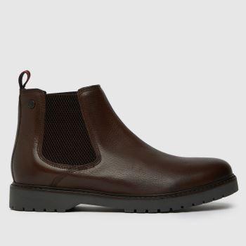Base London Brown Base Anvil Mens Boots