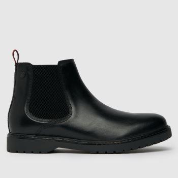 Base London Black Base Anvil Mens Boots