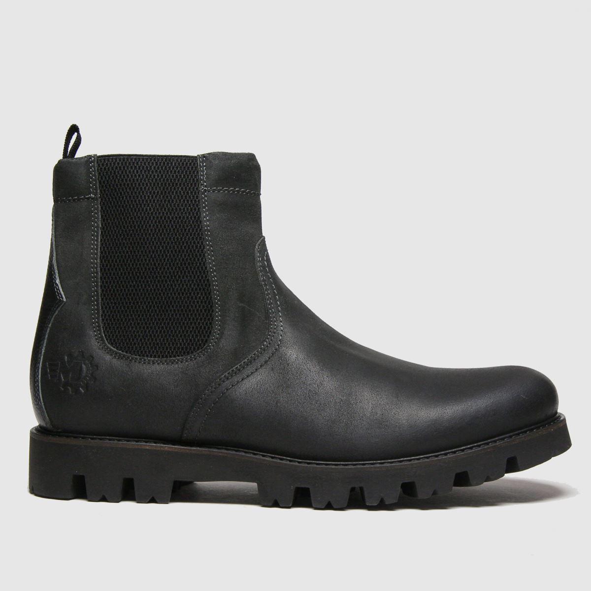 Base London Dark Grey Spur Boots