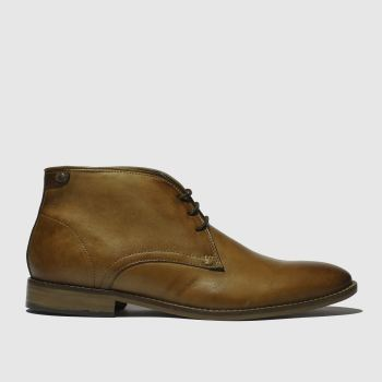 base london Tan Cameo Mens Boots