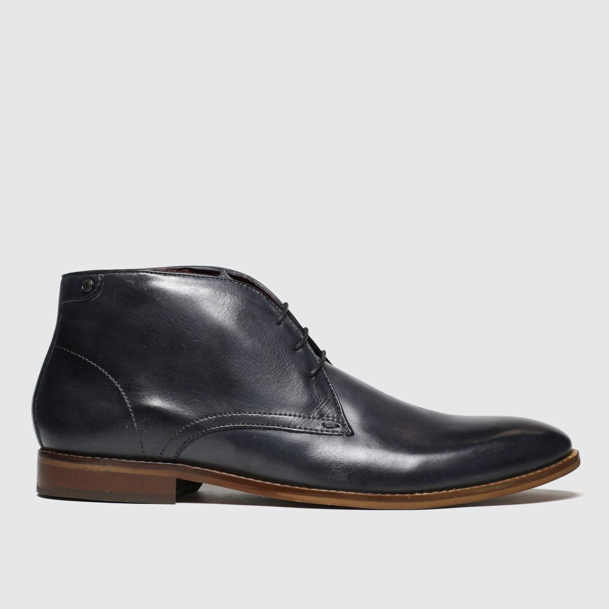 Base London Grey Cameo Boots
