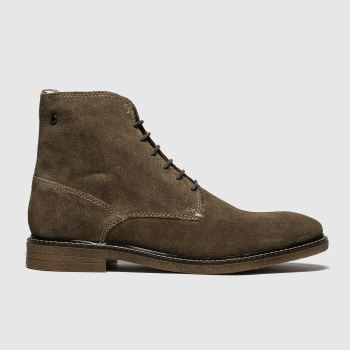 Base London Brown Jackson Mens Boots
