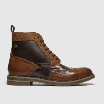 base london tan banner boots