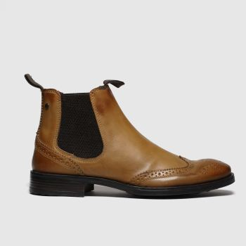Base London Tan Mason Mens Boots