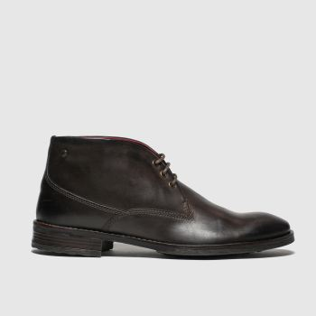 Base London Brown Bramley Mens Boots