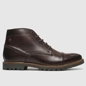 Base London Brown Rafferty Mens Boots