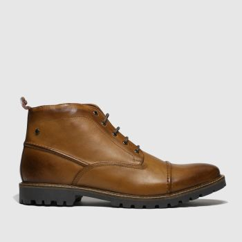 Base London Tan Rafferty Mens Boots