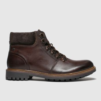Base London Brown Fawn Mens Boots